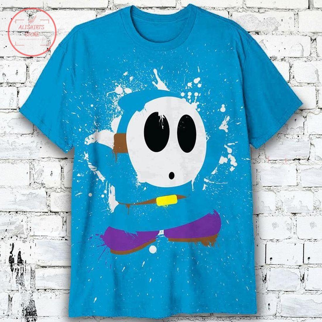 Super Mario Faceless Shy Guy Shirt
