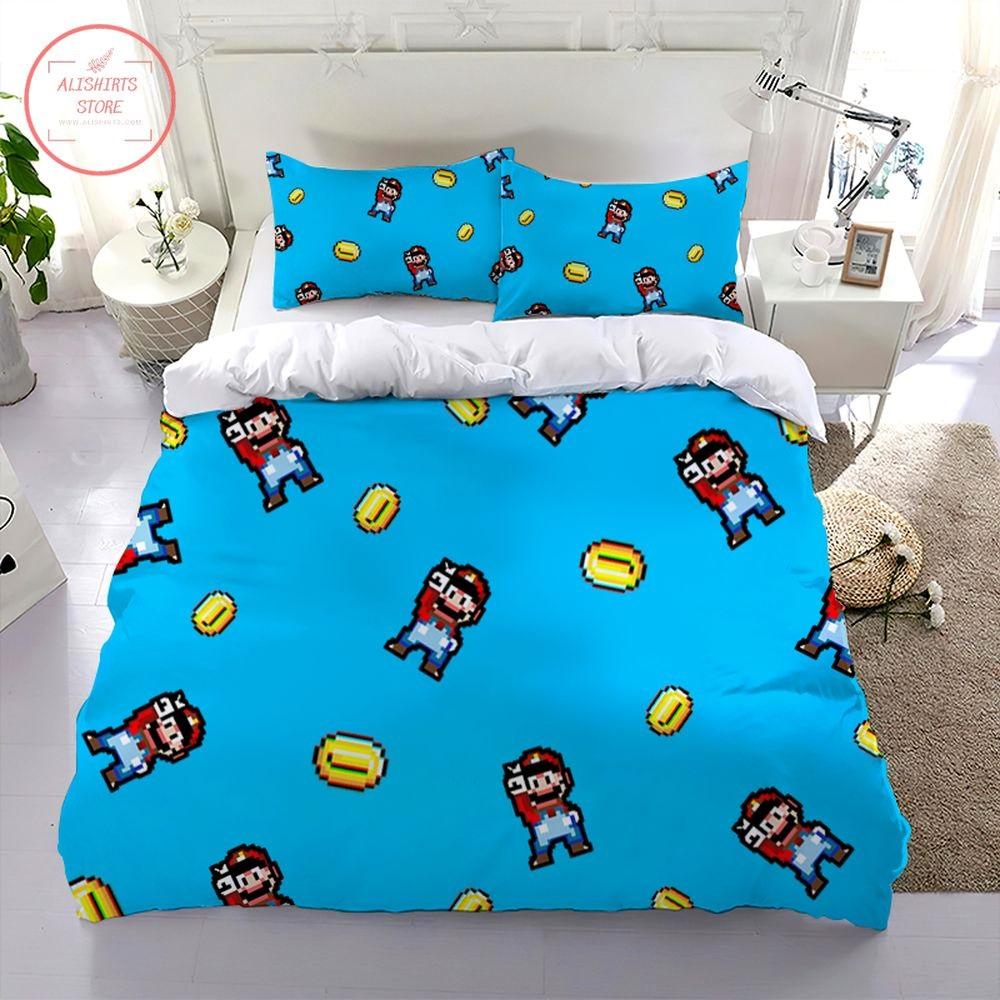 Super Mario Party Points Bedding Set
