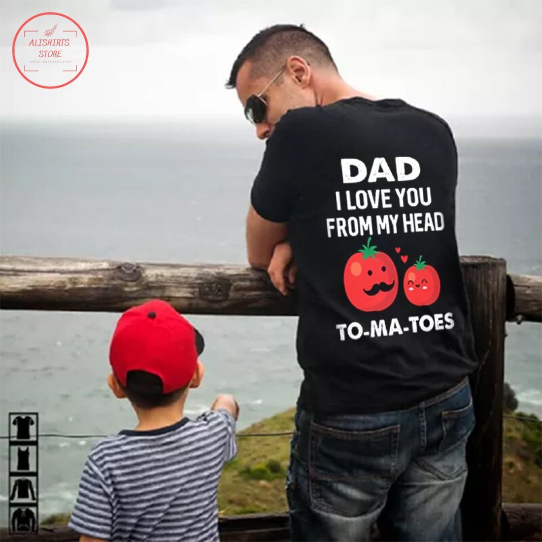 Superhero funny father's day shirt