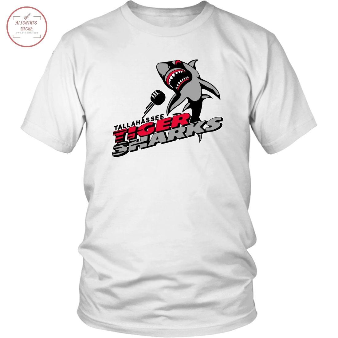 Tallahassee Tiger Sharks Tigersharks ECHL hockey shirt