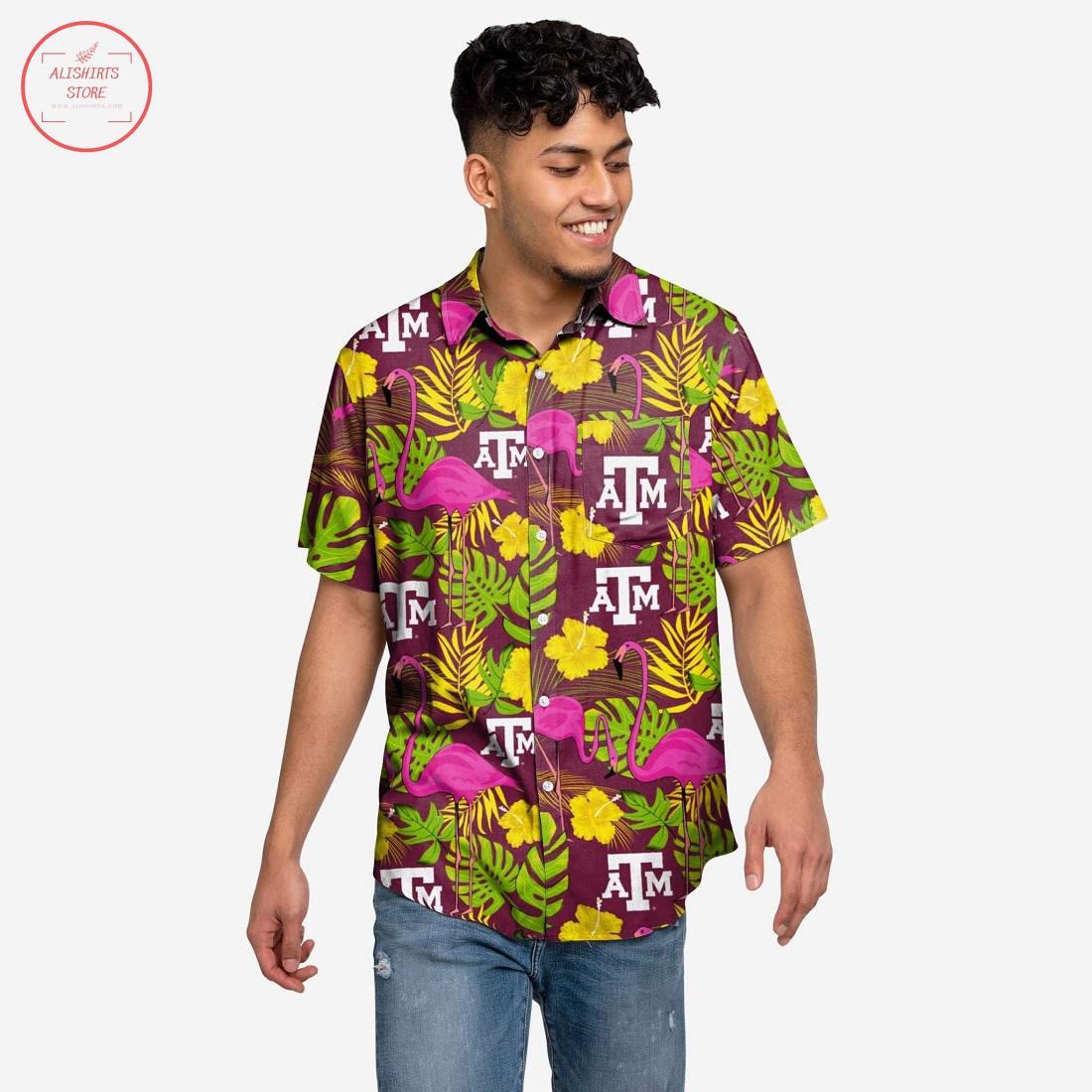 Texas A&M Aggies Highlight Hawaiian Shirt