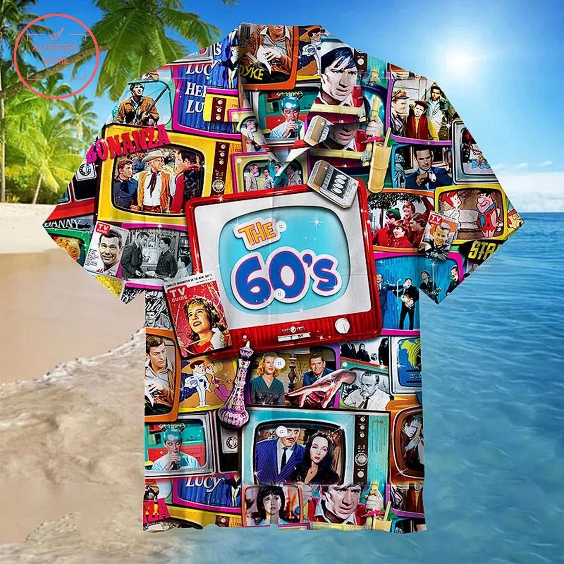 The 60s Shows Collage Hawaiian Shirt