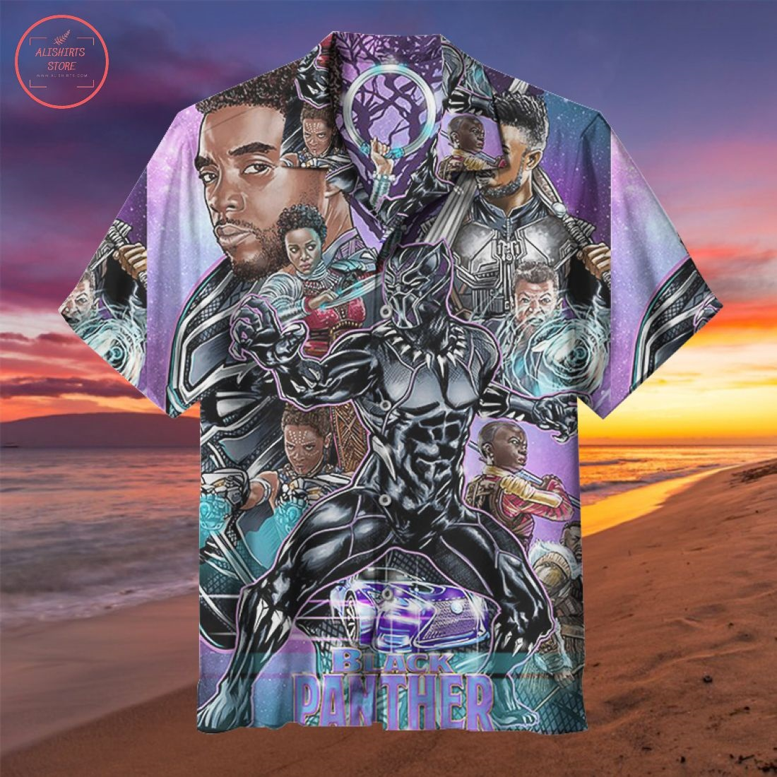 The Avengers Black Panther Hawaiian Shirt