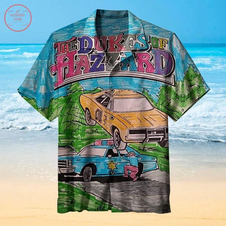 The Dukes of Hazzard Hawaiian Shirt