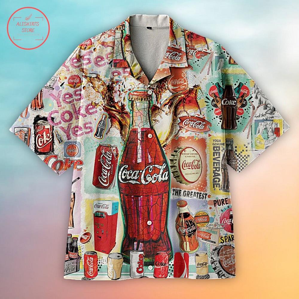 The Greatest Coca-Cola Hawaiian Shirt