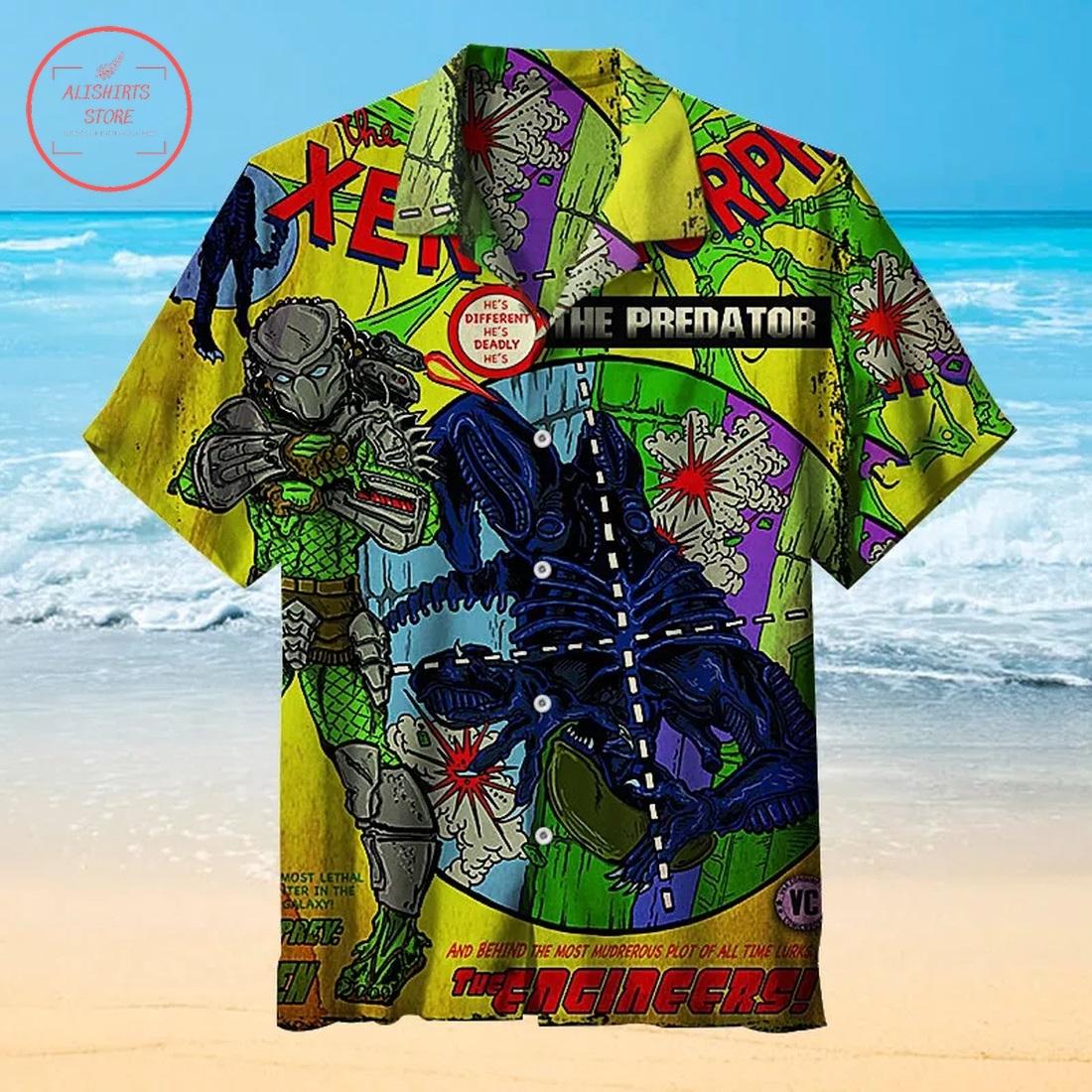 The Horrifying Xenomorph Hawaiian Shirt