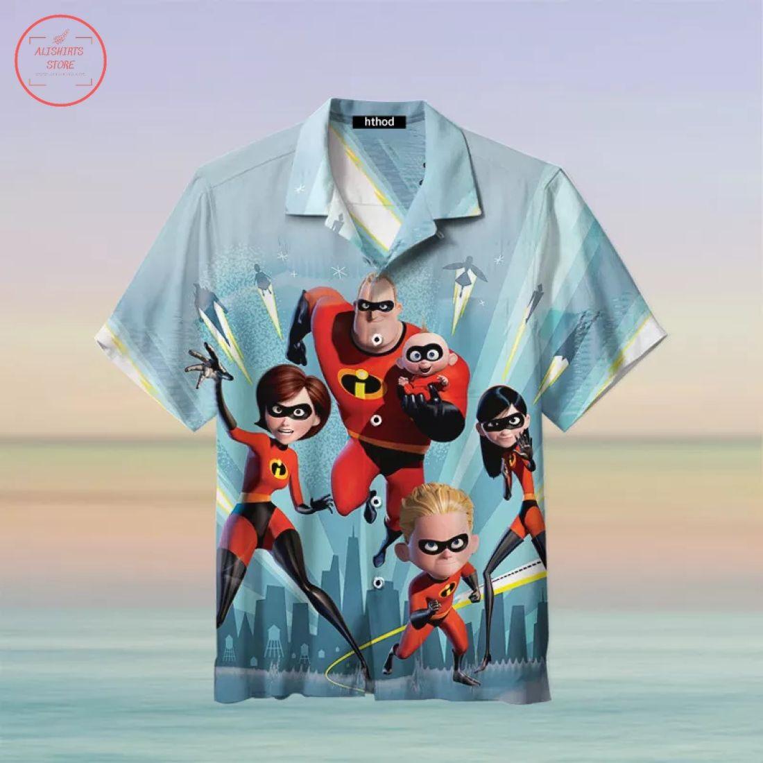 The Incredibles Hawaiian Shirt