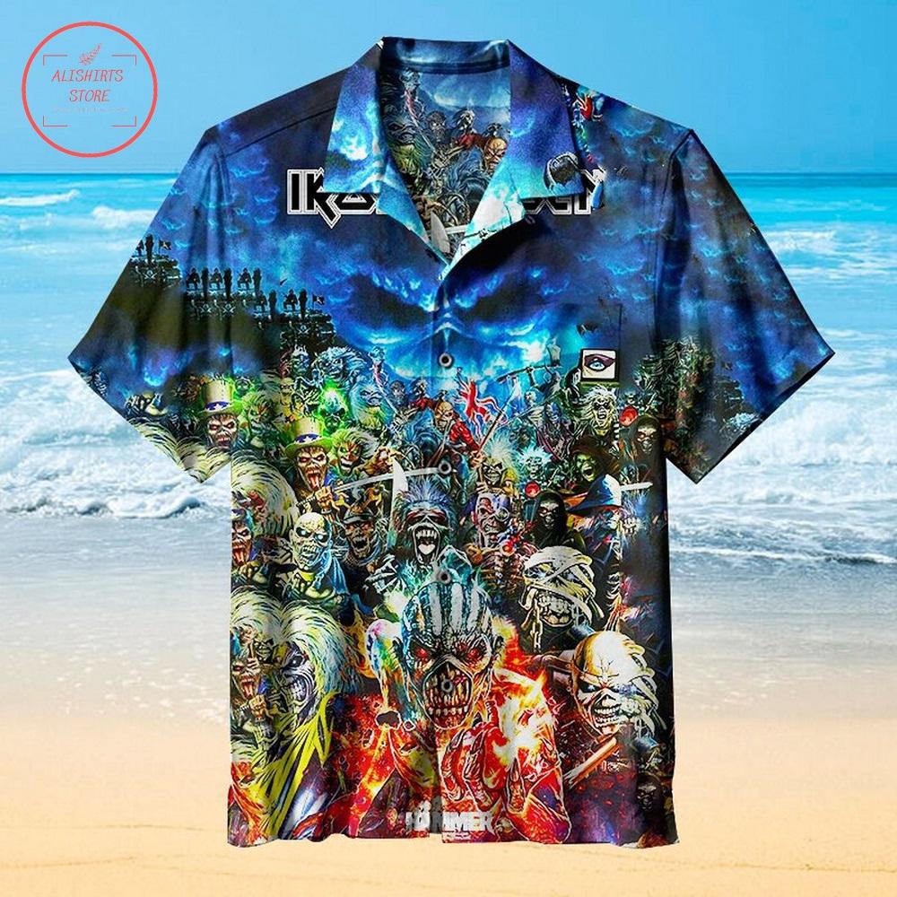 The Iron Maidens Hawaiian Shirt