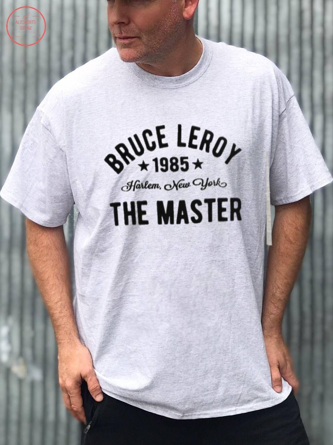 The Last Dragon Bruce Leroy Harlem 1985 shirt