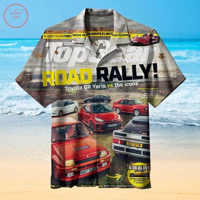 The Most High-End Road Rally Hawaiian Shirt