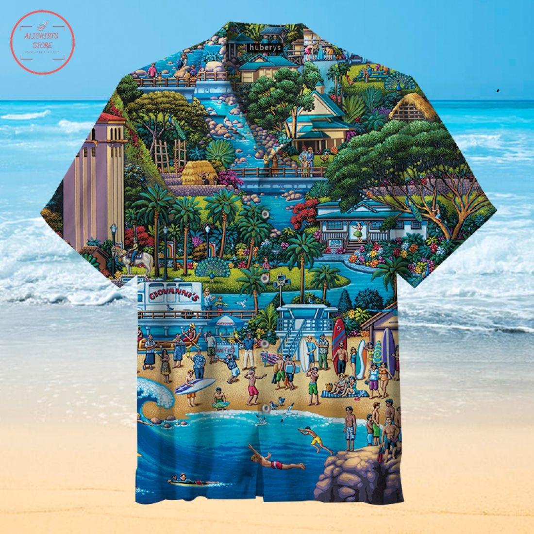 The North Shore Hawaiian Shirt