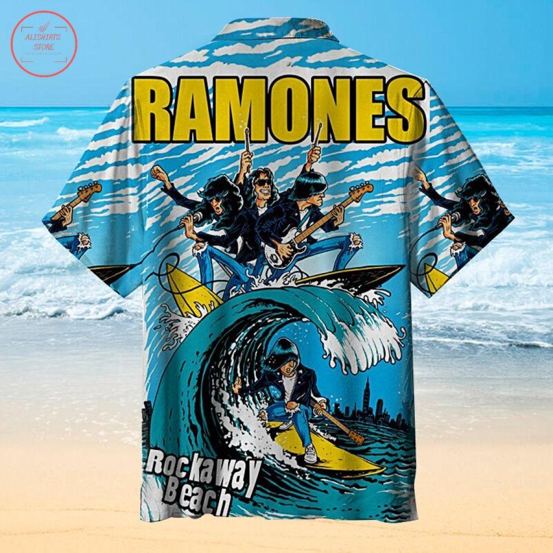 The Ramones Hawaiian Shirt