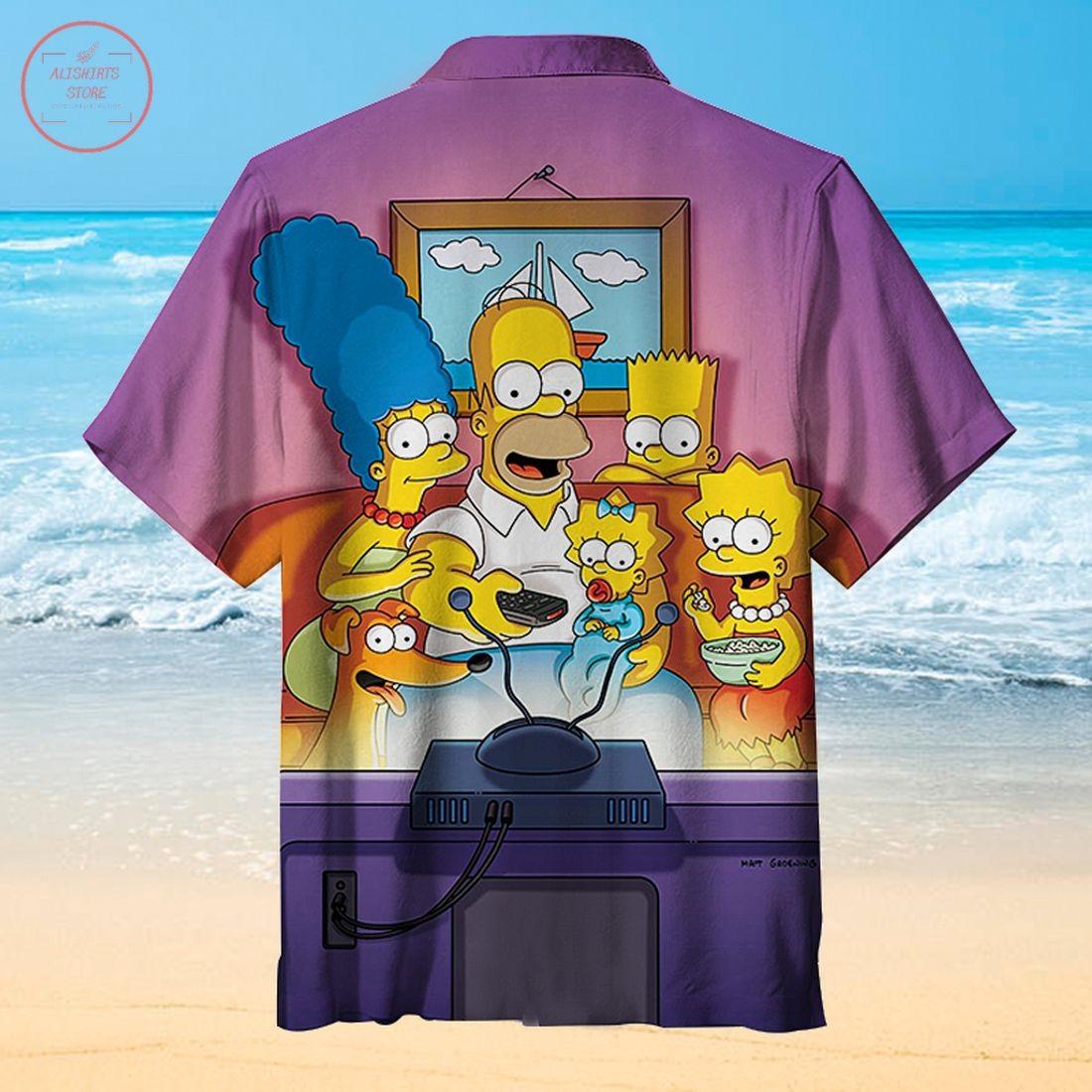 The Simpsons Hawaiian Shirt