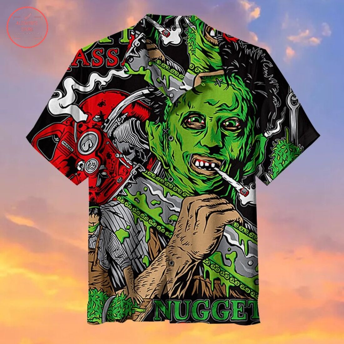 The Texas Chain Saw Massacre Hawaiian shirt
