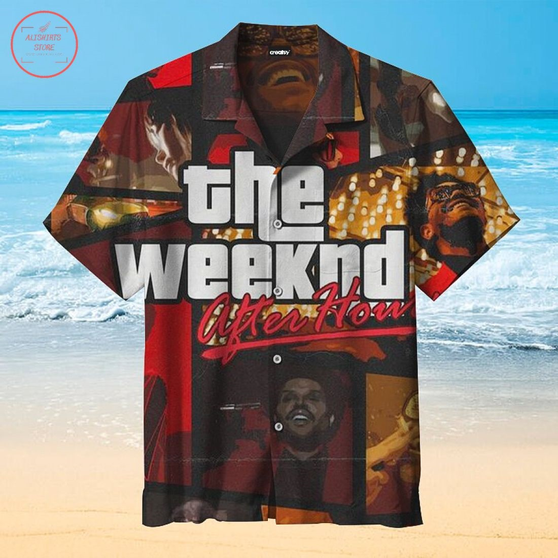 The Weeknd Hawaiian Shirt