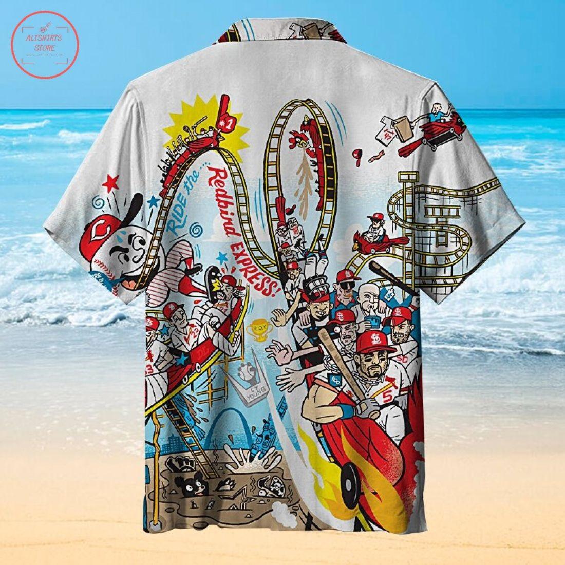 The amazing St. Louis Cardinals Hawaiian Shirt