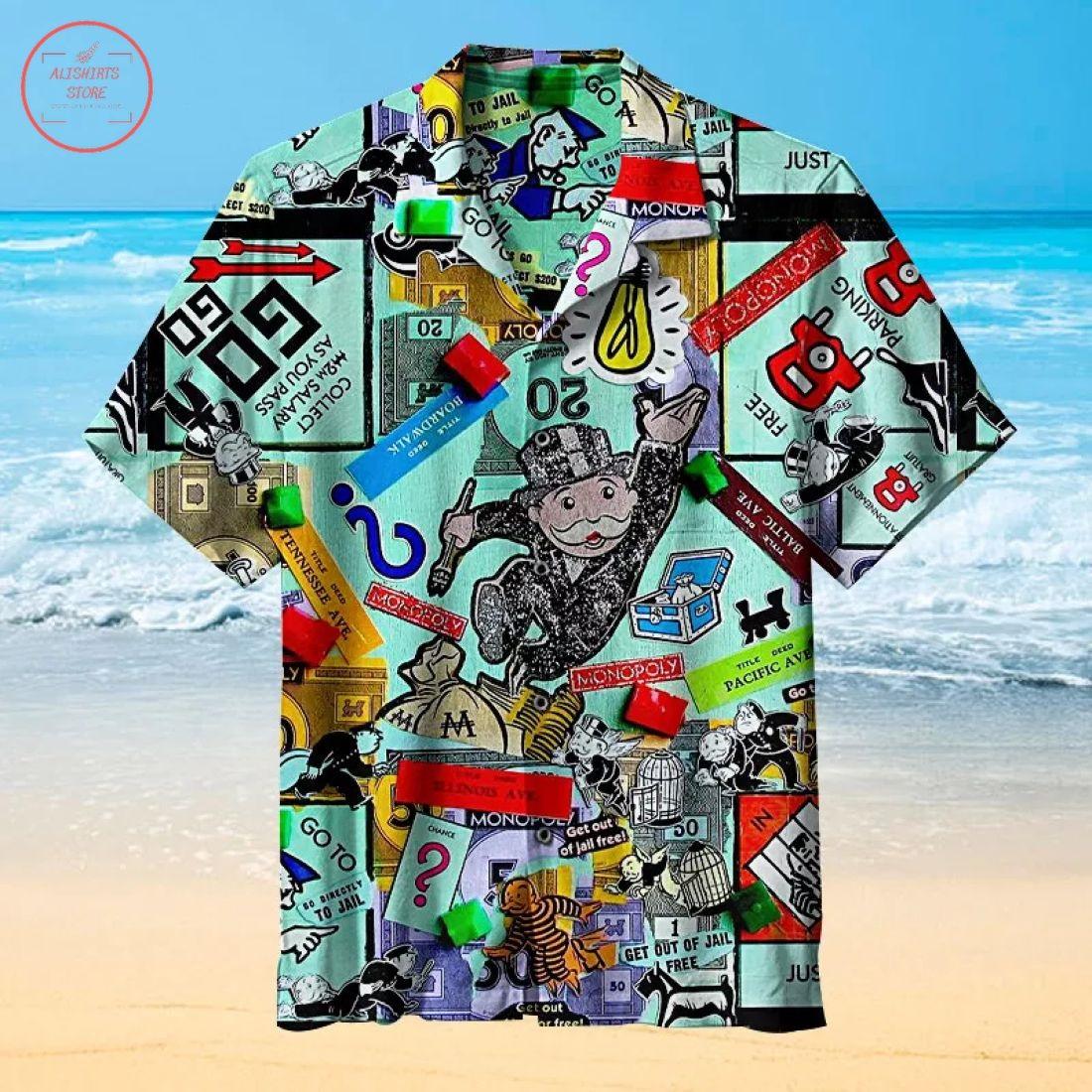 The best monopoly Hawaiian Shirt
