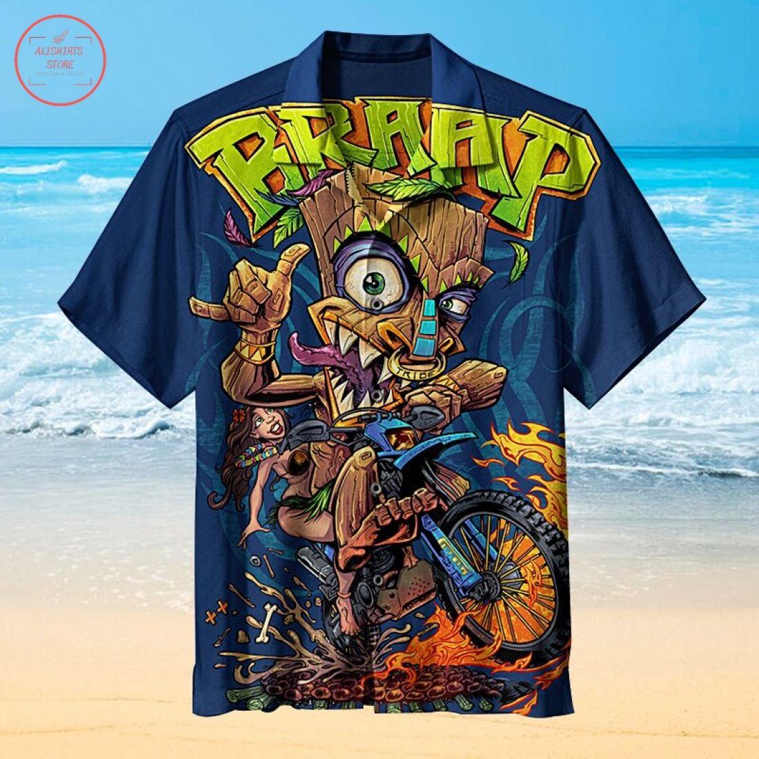 Tiki handsome Hawaiian Shirt