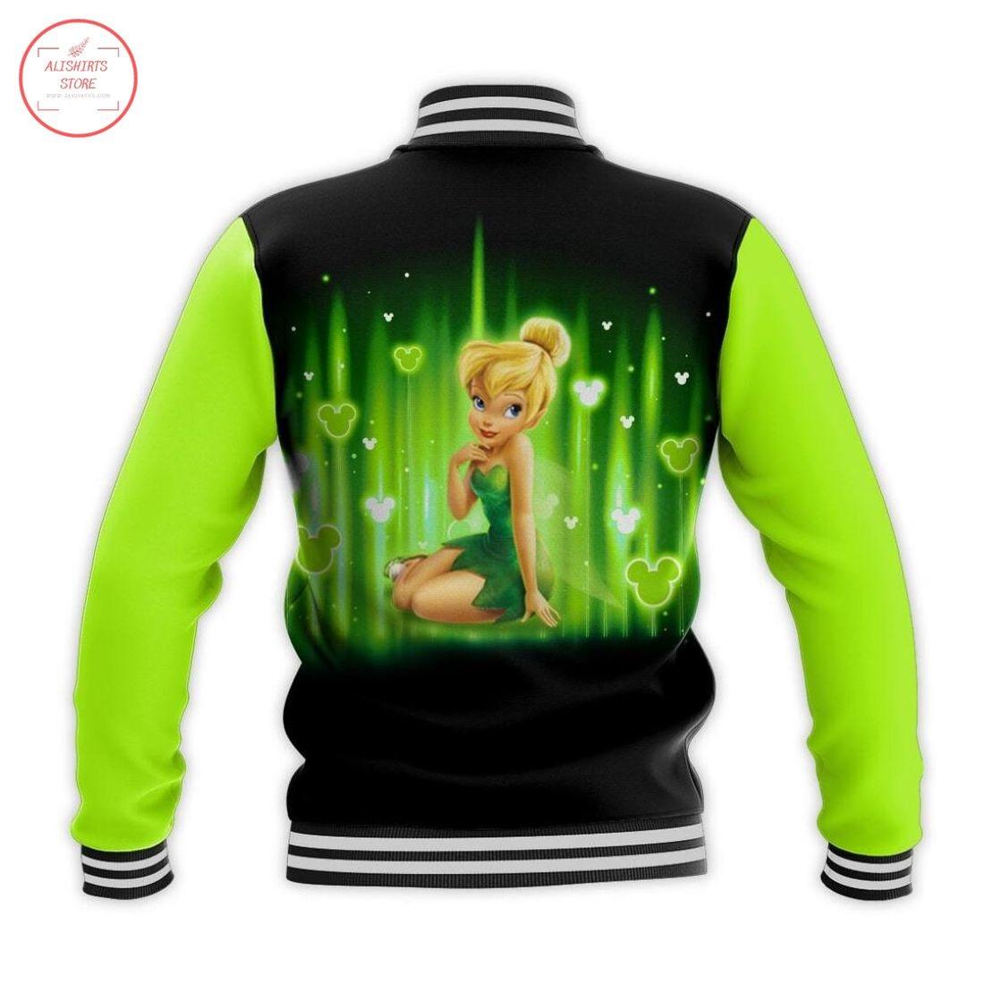 Tinker Bell Disney Letterman Jacket