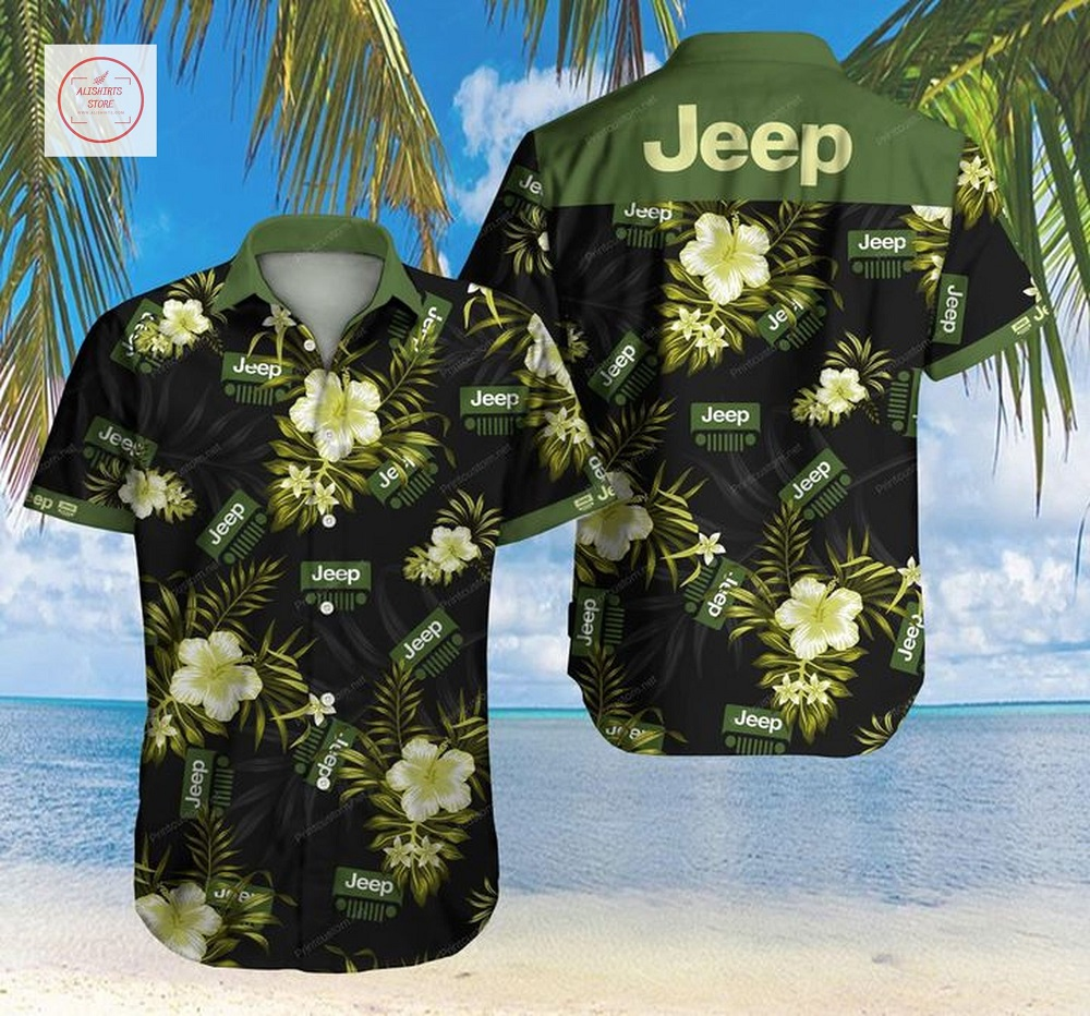 Tlmus Jeep Short Sleeve Hawaii Shirt
