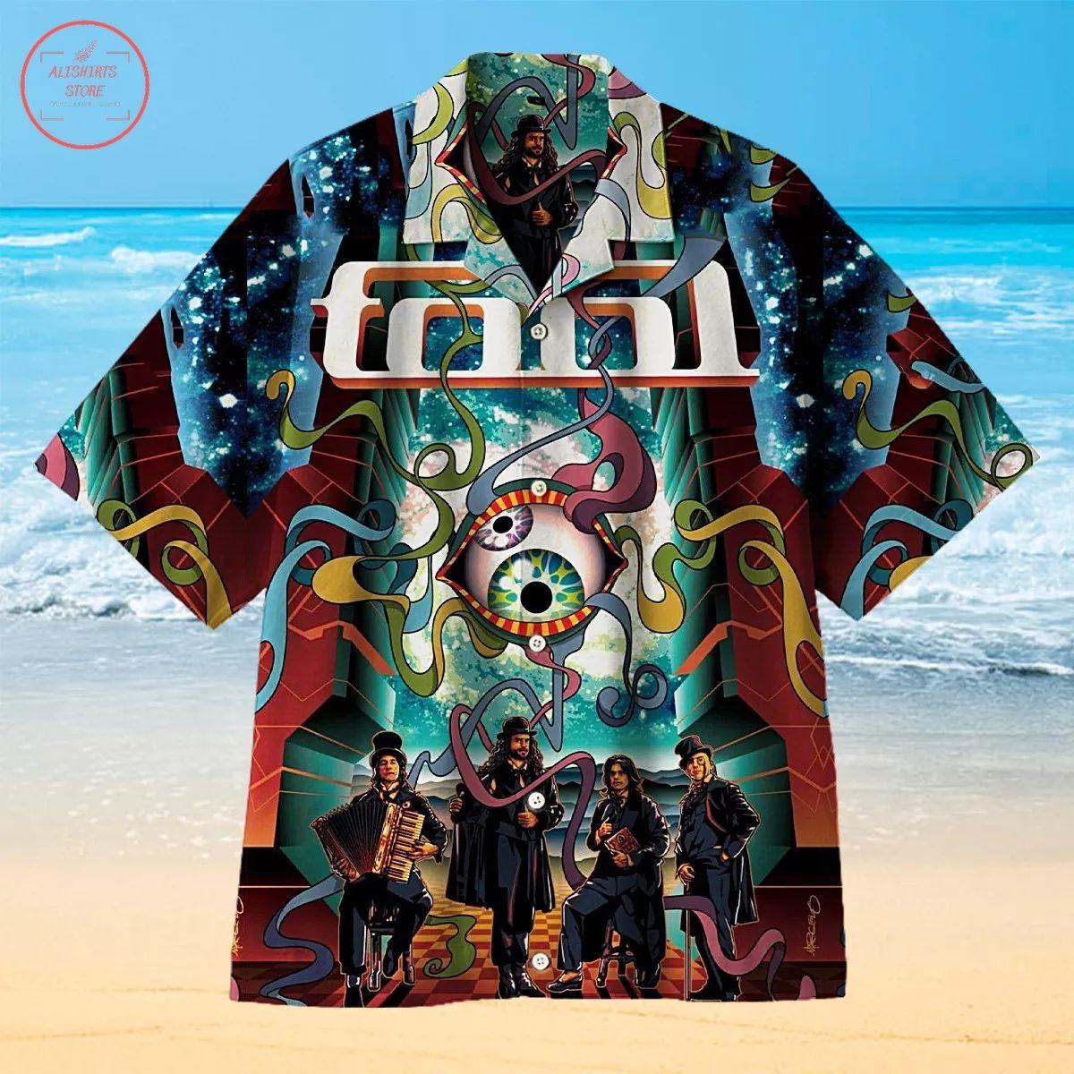 Tool Concert Poster Creative Hawaiian Shirt