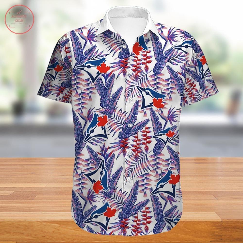 Toronto Blue Jays Hawaiian Shirt