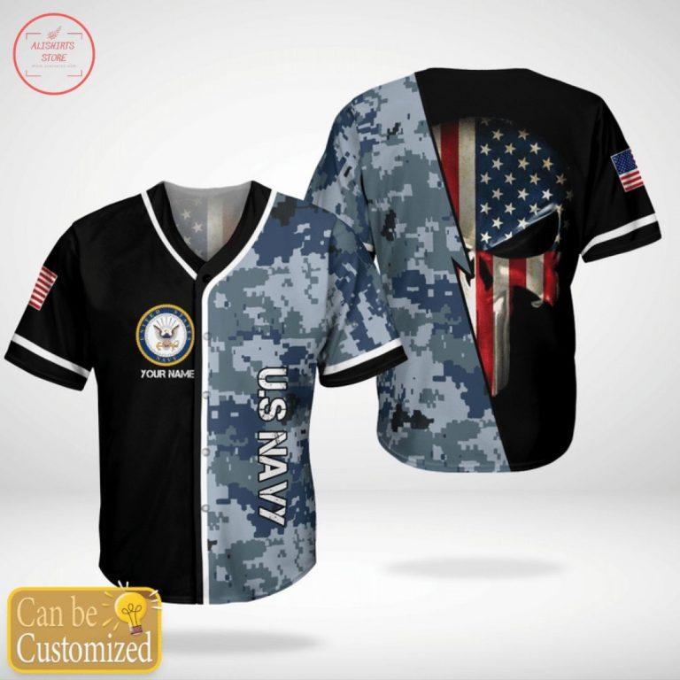 US Navy Personalized Custom Jersey