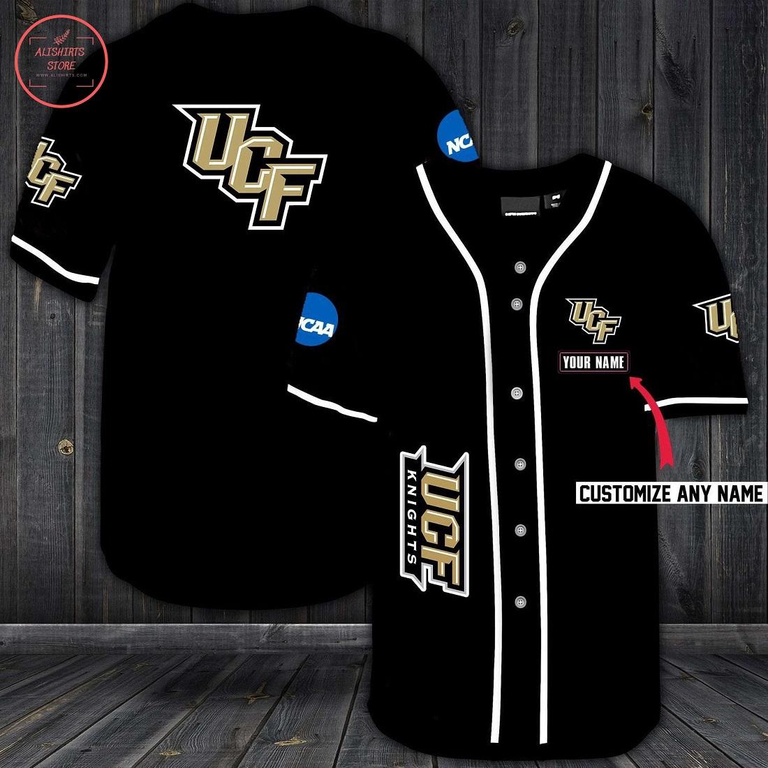 Ucf Knights Personalized Baseball Jersey