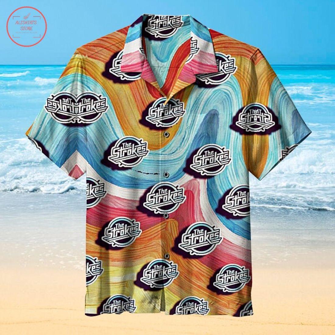 Unisex The Strokes Hawaiian Shirt