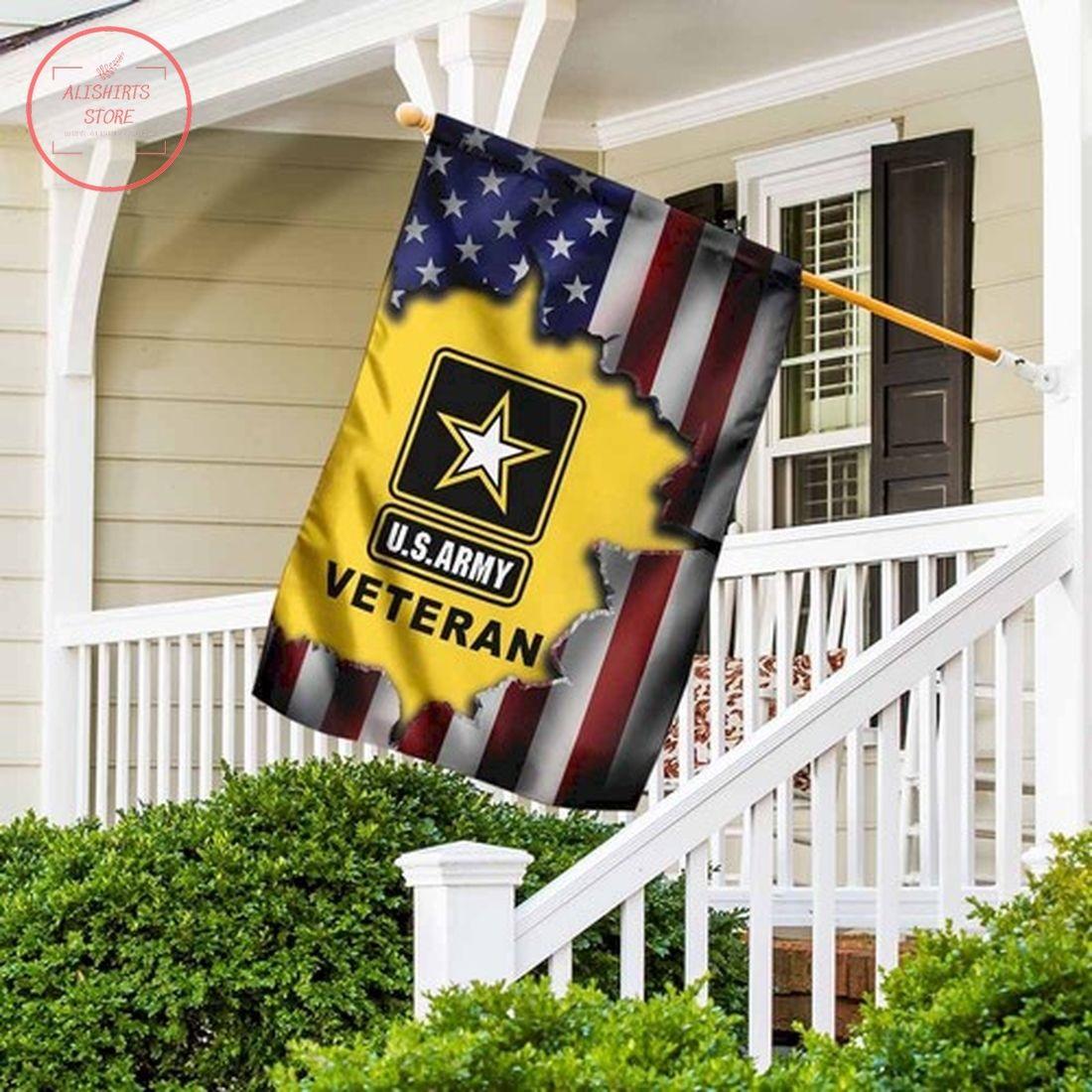 United States Army Veteran Flag Garden Flag