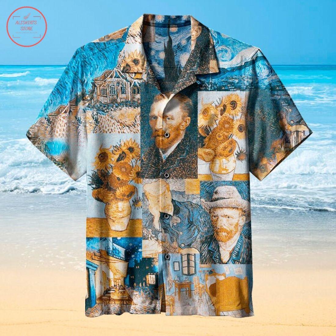 Van Gogh Art Hawaiian Shirt
