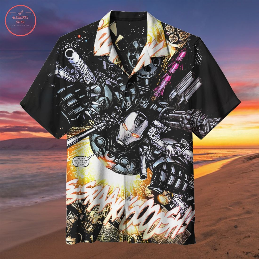War Machine Hawaiian Shirt