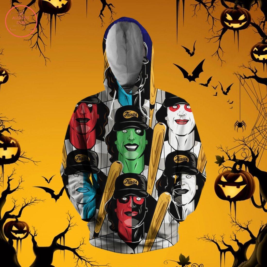 Warriors Poster Halloween 3D Hoodie