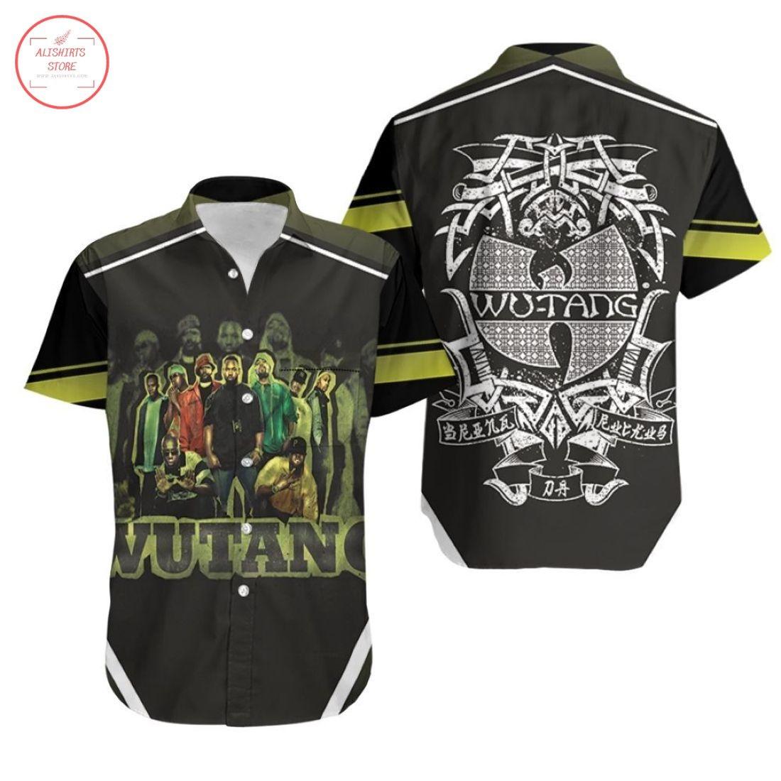 Wutang Clan Old School Underground Hawaiian Shirts