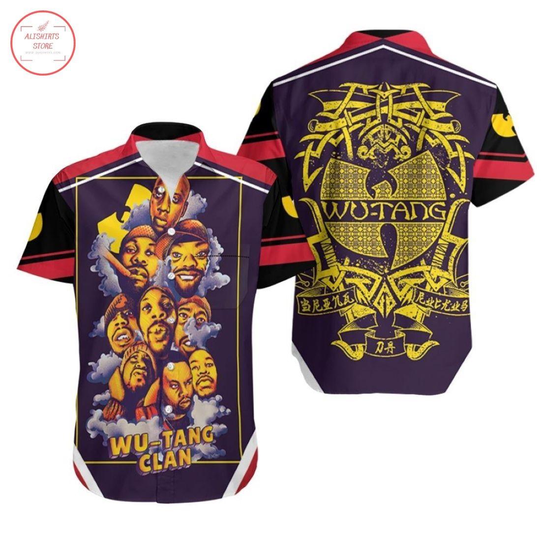 Wutang Clan Smoke Legend Hawaiian Shirts
