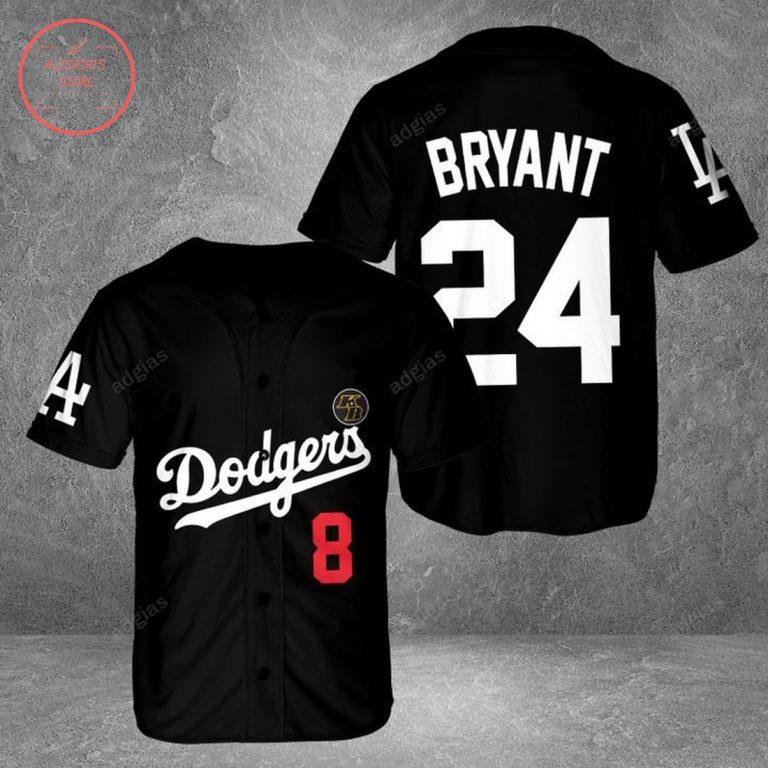 Personalize LA Dodgers Baseball Jersey