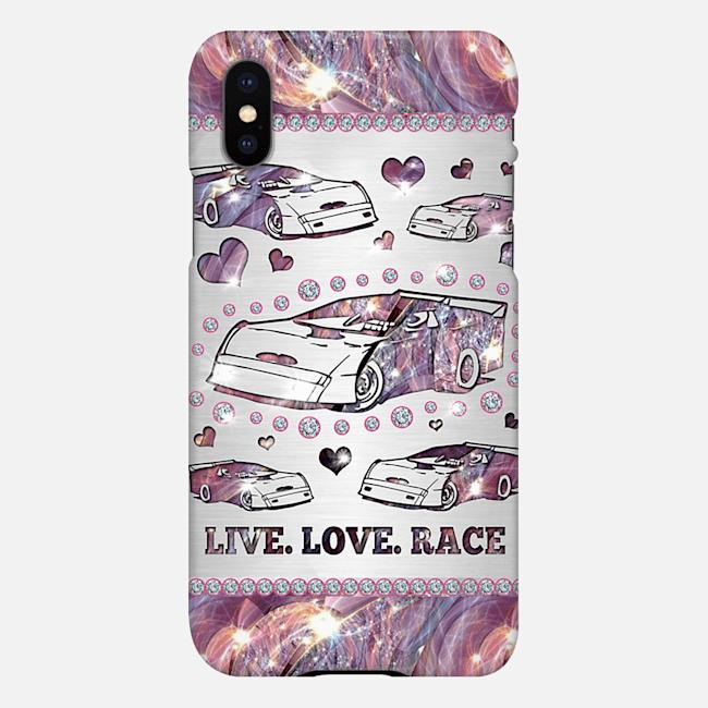 Late Model car Live love race Phone Case