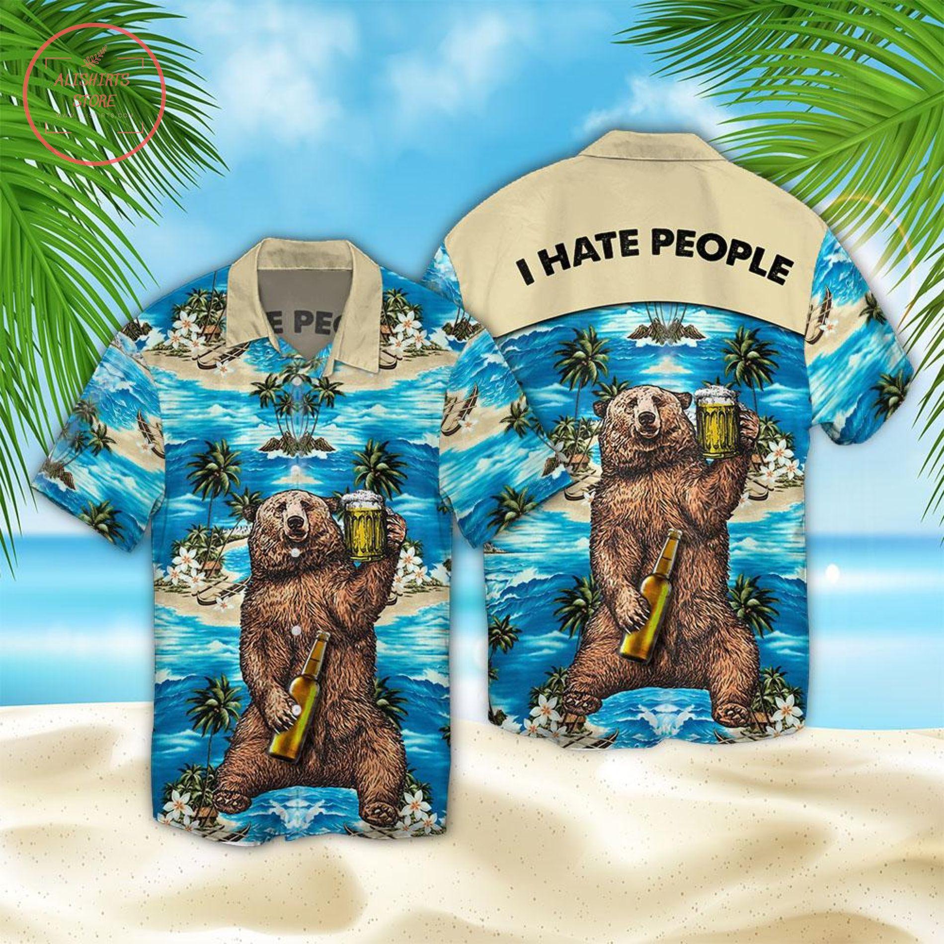 I Hate People Hawaii Shirt