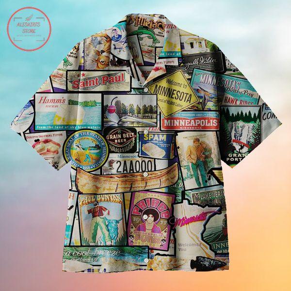 Welcome to Minnesota Hawaiian shirts