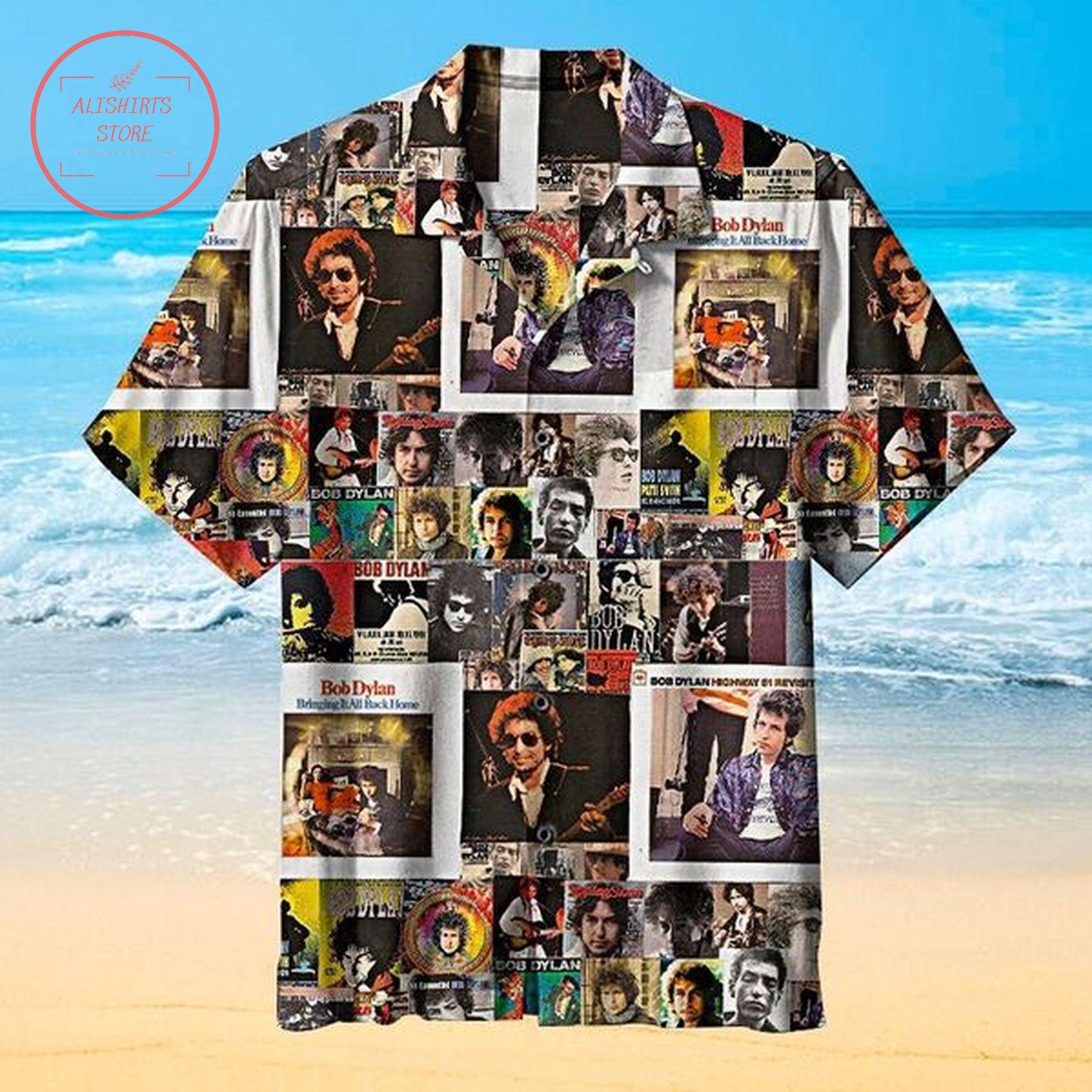 Bob Dylan 2021 hawaiian shirts