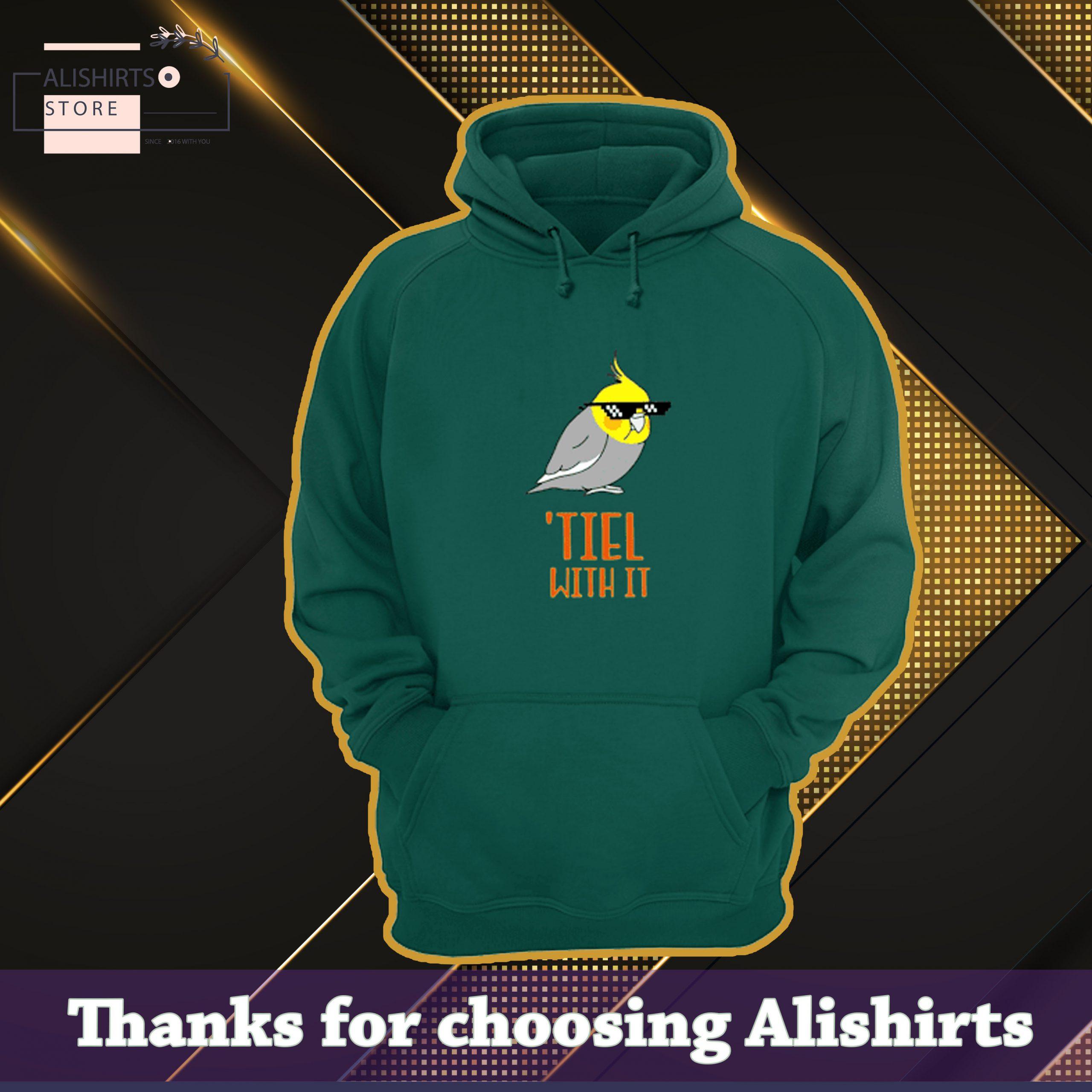 Cockatiel Bird tiel with it hoodie
