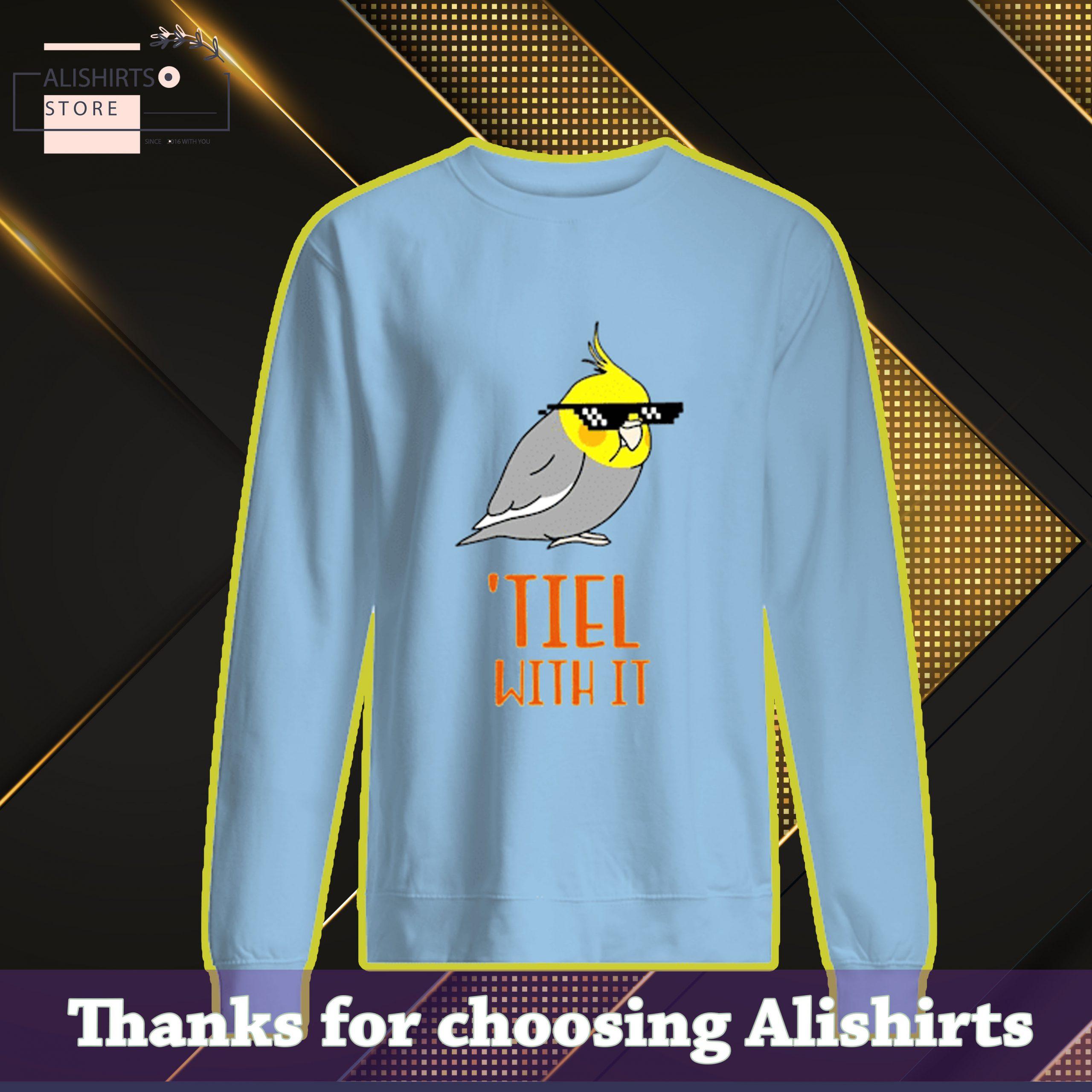 Cockatiel Bird tiel with it shirt