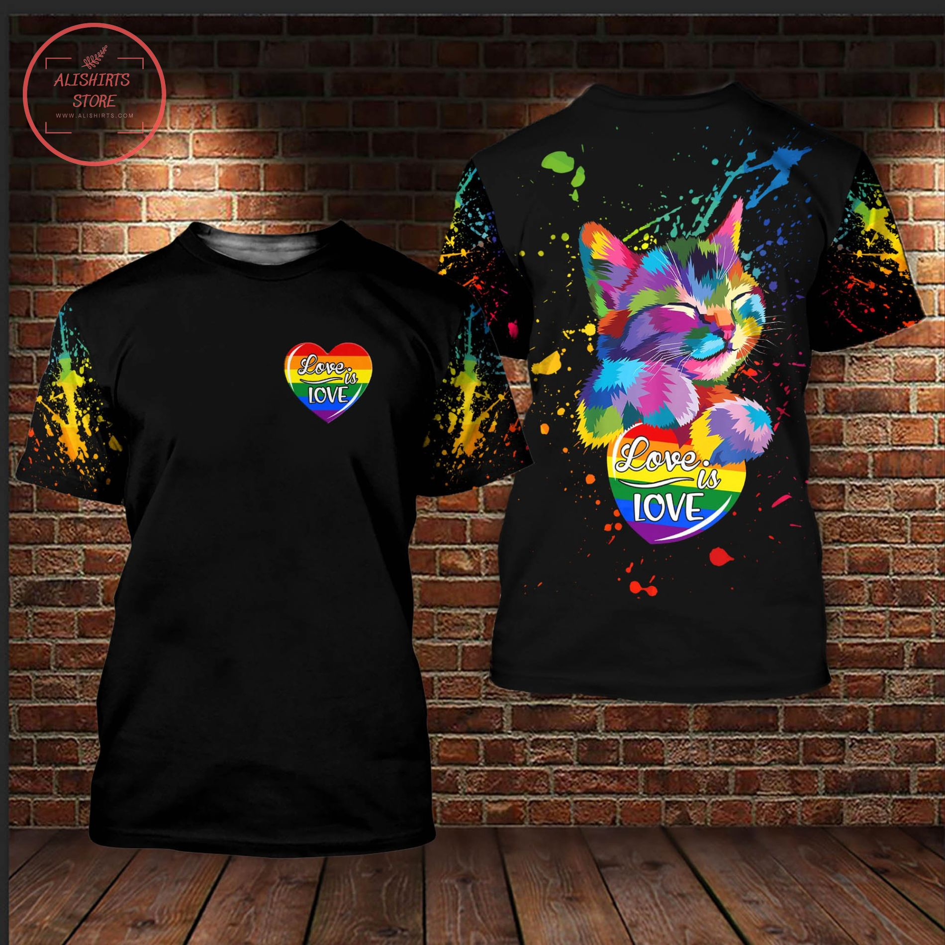Parade Pride 2021 LGBT Love Is Love 3D All Over Shirts