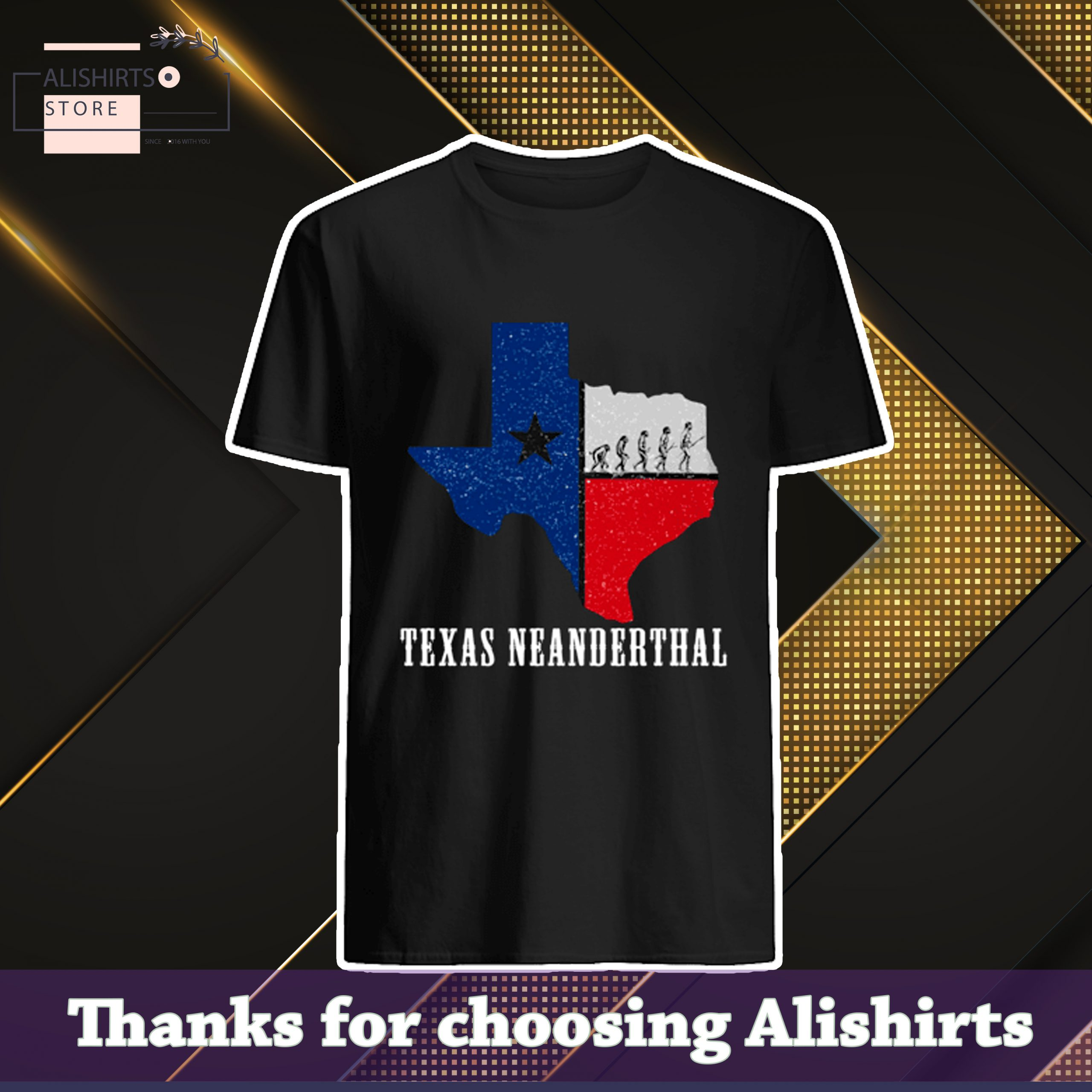 Texas Neanderthal For Proud Neanderthals 2021 With Texas Map Shirt