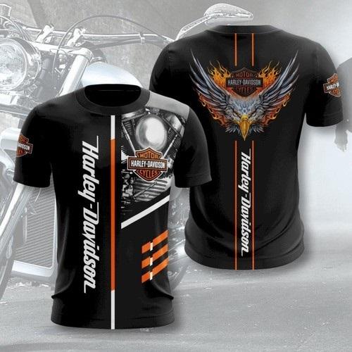 Harley-Davidson fans 3D Shirt