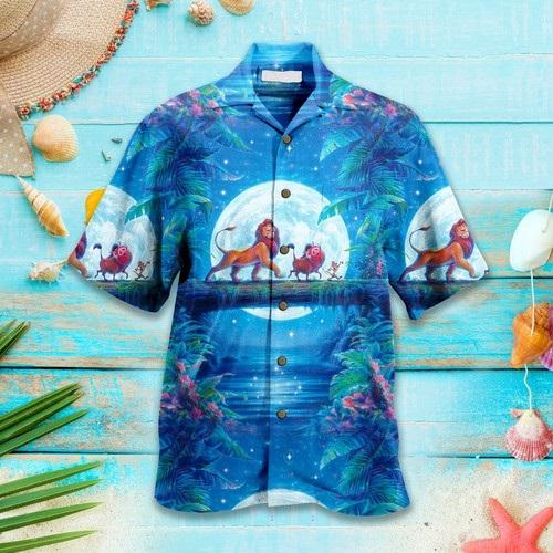 Lion King Disney Hawaiian Custom Summer