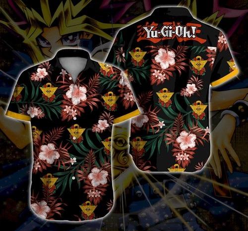 Yugi Beach Hawaii Summer Button Up Shirt