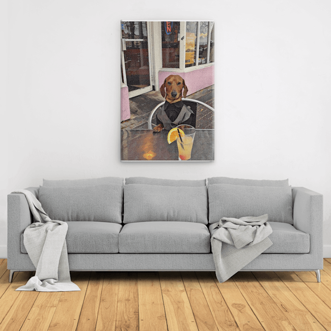 Sam Gallery Wrapped Canvas Prints