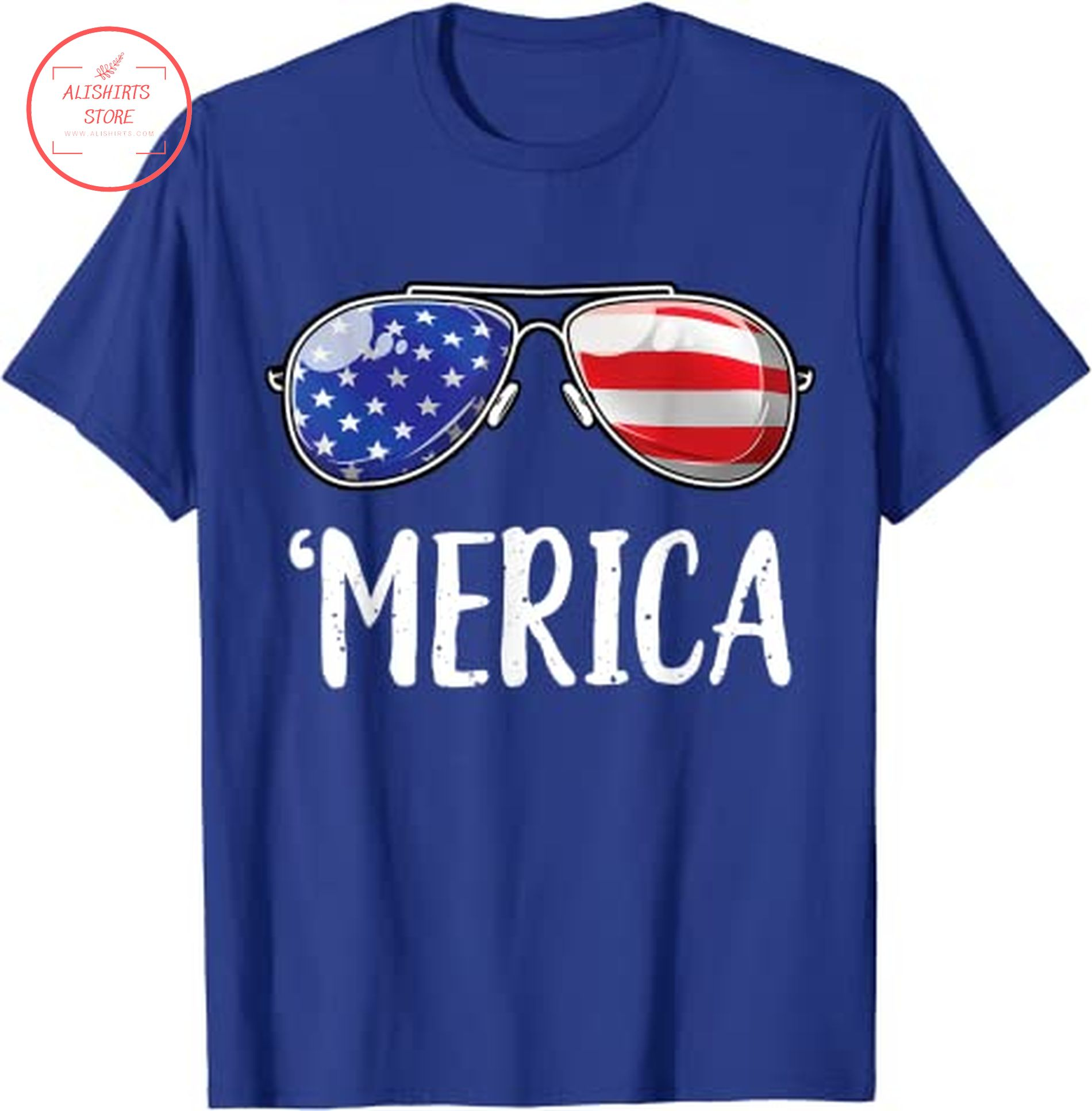 4th of July Sunglasses Shirts