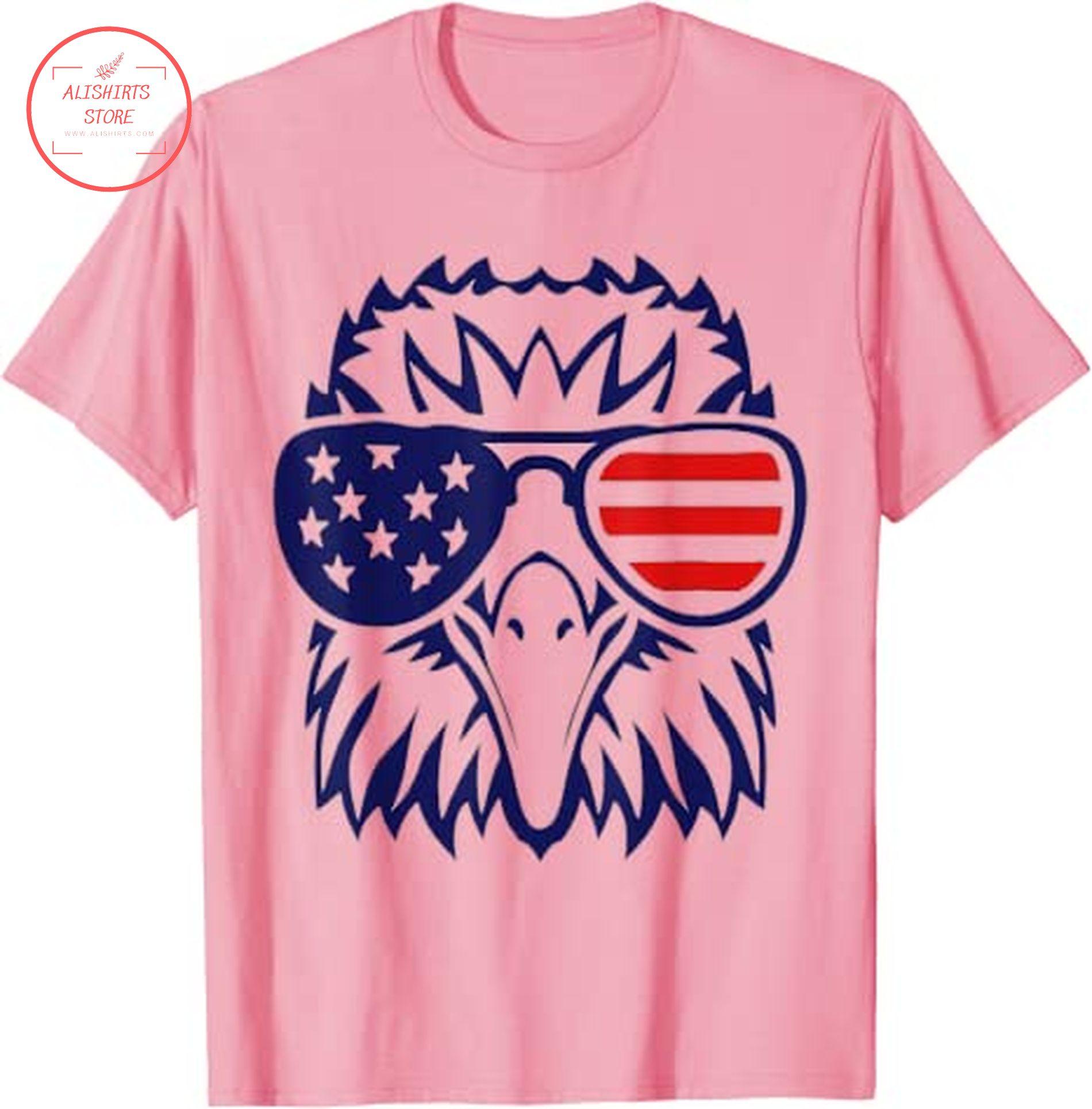 4th of July bald eagle shirts